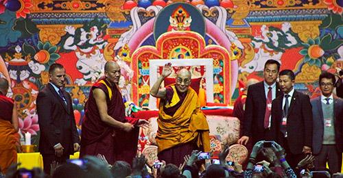 Учения Далай-Ламы в Риге 2016